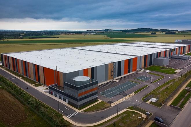 Inauguration entrepôt